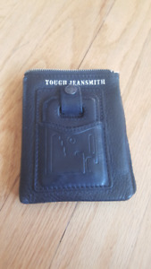 Tough Jeans Wallet with Multi Tool and SD Card storage.