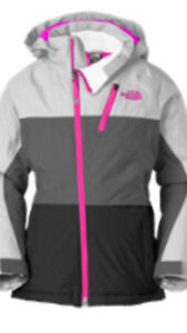 NWT The North Face girls insulated Ski jacket