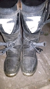 Thor motocross boots size 10