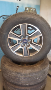 Ford F150 Wheels + Tire Package