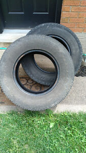 265/70/17 Tires off a Silverado - Used - $50 each