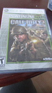 Call of Duty 3 still in package (Collectible)