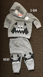 Baby Clothes Size 3-6M (NEW!)