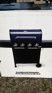 Brand New BBQ BackYard Blue with electric lighter