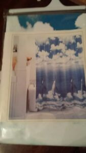 Dolphin shower curtain - new in package.