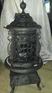 Antique working parlor stove