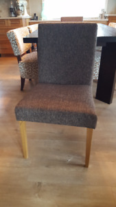 Upholstered Dining Chairs - set of 2