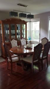 Classic 11 Piece cherry wood diningroom set