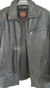 Danier leather 3/4 length jacket, size medium