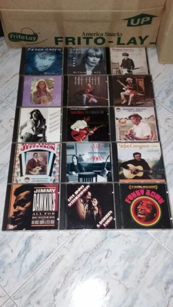 COLLECTABLE VINTAGE RARE HI END ENGLISH GUITAR CD SONGS IMPORT FROM USA.