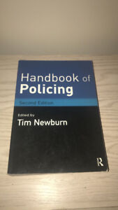"""Justice studies textbook """"policing in a democratic society"""" clas"""