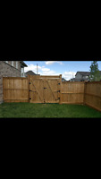 Wood Fencing Service