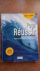 """URGENT Livre """"Pour réussir"""""""
