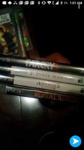 Action / Fighting Games PS3 Bundle