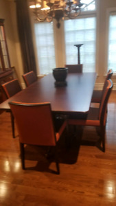 Complete dining room set of sale