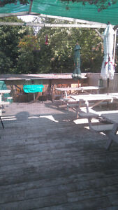 Licensed Cafe w/ Patio For Rent