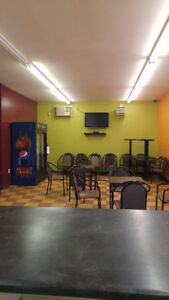 Restaurant for rent with pizza oven