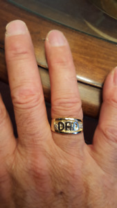 NEW 10KT GOLD DAD'S RING