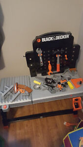 Black and Decker Tool Table