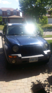 2002 jeep liberty for parts or repair