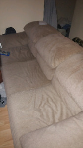 Couch and chairs $75