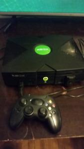 Original Xbox consoles