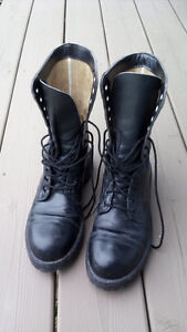 HH Brown Leather Steel Toed WorkBoot