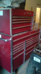 Snap On Tool Box and Top Box