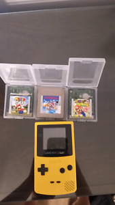 GBC + Games for sale!