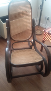 Bentwood rocking chair for Mom and baby