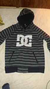 DC Black & Gray Hoodie.  Men's Large. Only $25!!