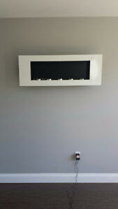 Fuel Canister Wall Mounted Fireplace