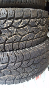 2x 255/65r17 Hercules Terra Trac AT M+S Neuf New West Island Greater Montréal image 1