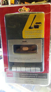 cassette recorder with mic