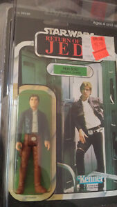 Original vintage star wars Han Solo