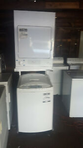 Apt. size stackable washer and dryer  with regular house plug
