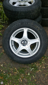 255\75R16 icepro on racing rims for cars and SUV
