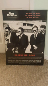 RESERVOIR DOGS MOVIE POSTER PRINTED ON WOOD NEEDS TO GO!!
