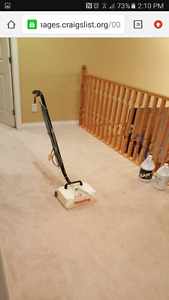 Carpet and upholstery shampoo cleaning machine for sale