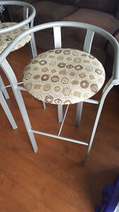 Pair of Custom bar stools from Ashley Furniture
