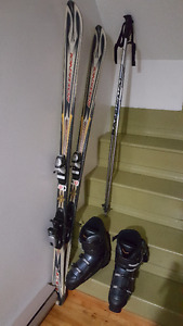 Rossignol Ski's with boots and poles.