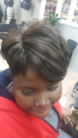 Short weave and cut .