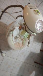 balançoire pour bébé ,Fisher Price (lapin)