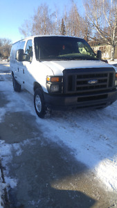 2008 E-250 Cargo Van, low km, well maintained -Reduced