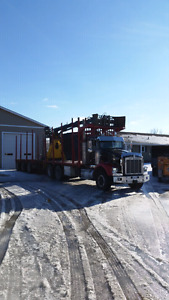 1994 kenworth.  Rotobec loader.