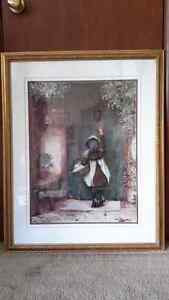 Beautiful Framed Vintage Prints Oakville / Halton Region Toronto (GTA) image 1