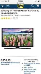 "40"" Smart TV Samsung Brand New 5200"