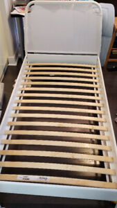 Twin Bed Frame and Sealy Mattress