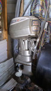 **make an offer** 100 hp outboard  motor 1500.00 obo