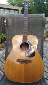 Vintage Yamaha FG 180  Acoustic Guitar